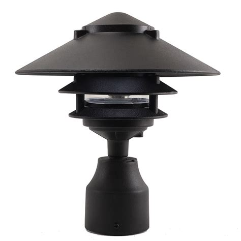 3 tier pagoda light led 3 tier pagoda post light led ppc351 by aql