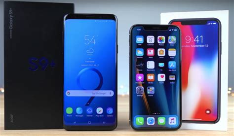 galaxy s9 vs iphone x real speed test a upset we didn t see coming bgr