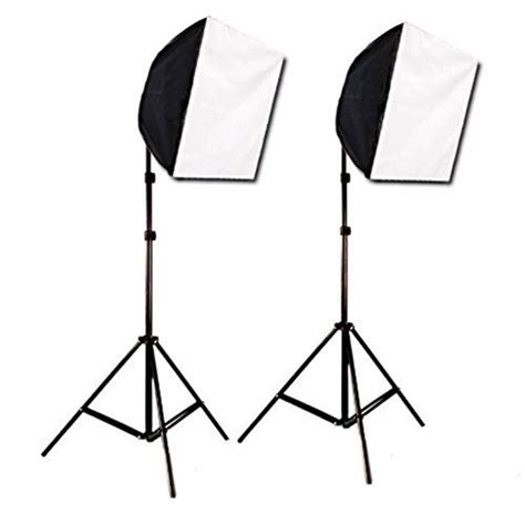 softbox video lighting kit photography studio green screen video photo quick softbox