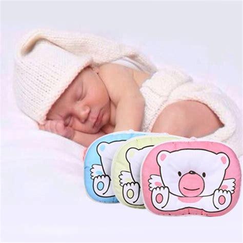 Newborn Baby Neck Support Pillow by Newborn Infant Pillow Sleep Nursing Soft Neck Support