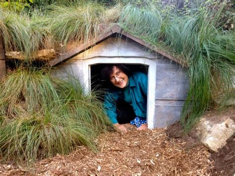 hobbit dog house how to build your own hobbit hole studio g apartment therapy
