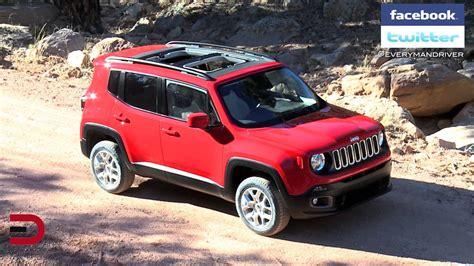 jeep renegade targa top 2015 jeep renegade on everyman driver youtube