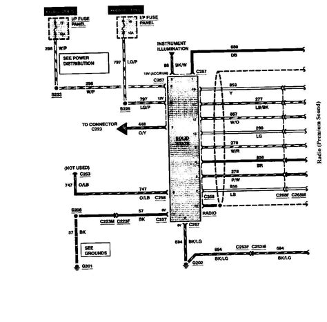 ford premium sound wiring diagram wiring diagram with