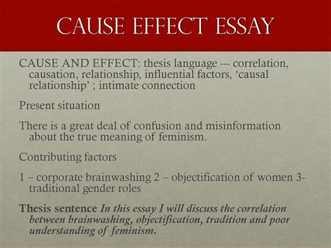 Cause Effect Essay Topic Sentence by The Essay Writing Process Academic Skills Units 8 And 9 Damon Hansen Ma Academic Sp