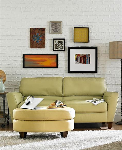 Almafi Leather Sofa Living Room Furniture Collection Almafi Leather Sofa