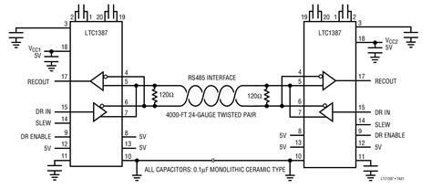 rs485 wiring diagram efcaviation