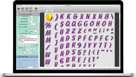 typography generator for mac bmglyph bitmap font generator for mac osx