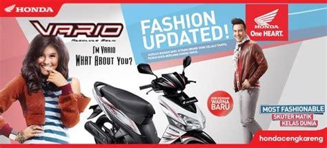 Kiprok Vario Techno 110 harga sepeda motor honda vario 125