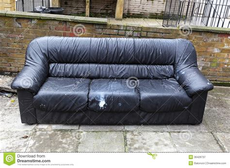dispose of old couch sofa disposal stock image image of furniture obsolete