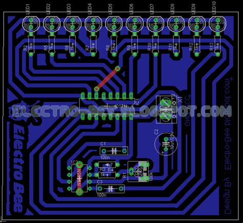 layout pcb running led pin fan di bella thorne shared s photo on pinterest