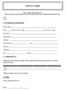 seminar registration form template word event registration form template free microsoft word