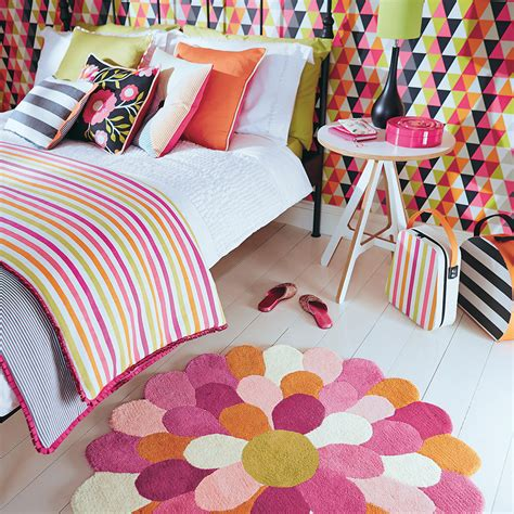 funky bathroom rugs buy harlequin funky flower rug amara