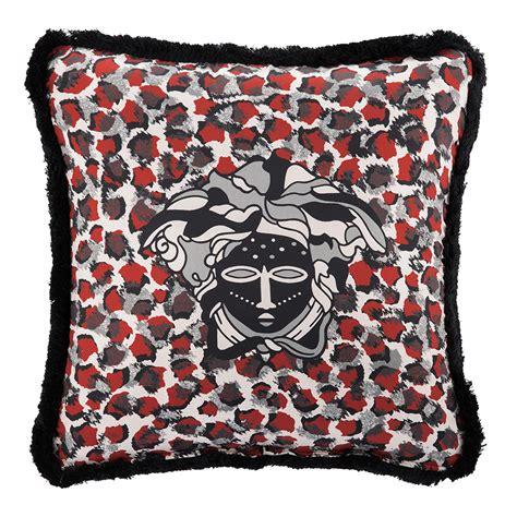 grey sofa with red cushions buy versace vulu cushion 50x50cm red grey amara