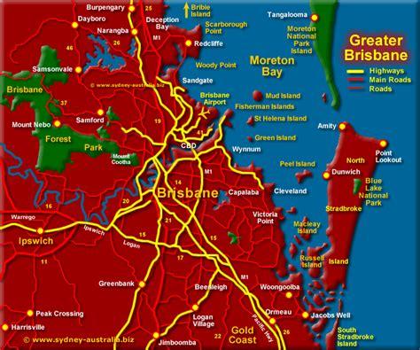 printable map hervey bay brisbane accommodation map my blog