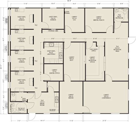 facility floor plan ellis modular buildings healthcare facilities floor plans