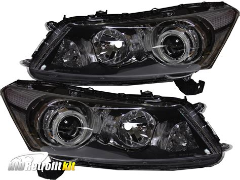 2011 honda accord headlights 2008 2012 honda accord sedan led retrofit projector