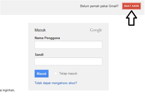 daftar membuat gmail com cara membuat akun blogger blogspot tutorial blogger dan