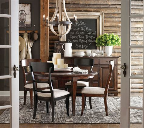 bassett dining room highlands round dining table by bassett furniture