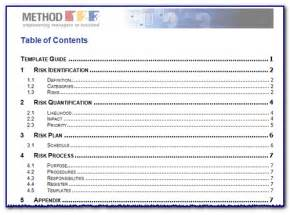 Word Report Template With Table Of Contents Table Of Content Template New Calendar Template Site