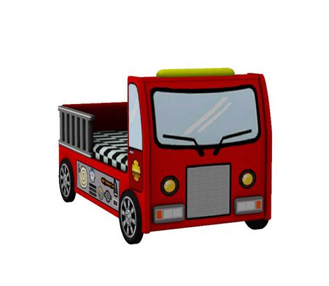 firetruck toddler bed simsima fire truck toddler bed mini outfitters