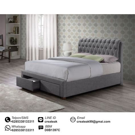 Dipan Kasur Anak tempat tidur minimalis leicester createak furniture createak furniture