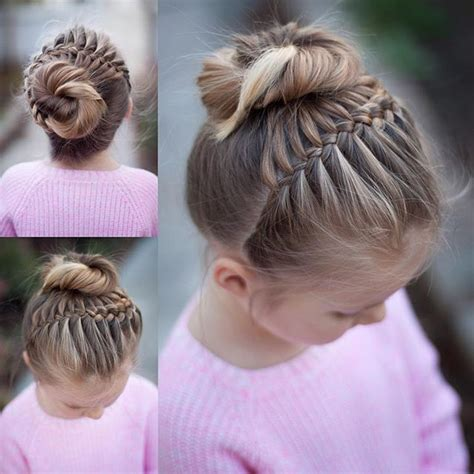 hairstyles plaited children 17 best images about hair buns ballet dance class on