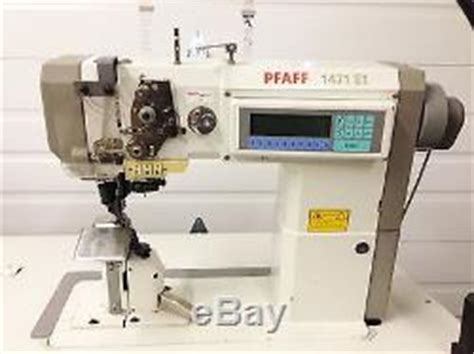 e1 sewing machine pfaff 1471 e1 postbed top bottom driven roller feed