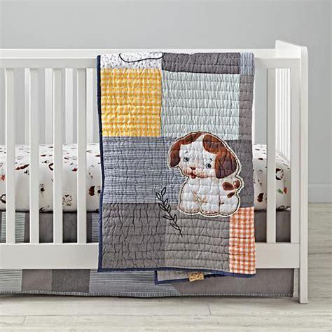 puppy crib bedding poky puppy crib bedding the land of nod
