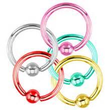 captive rings circular rings from bodyjewelry