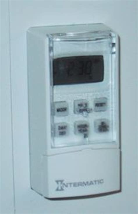 intermatic wall timer manual