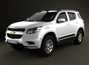 chevrolet trailblazer 2012 3d model max obj 3ds fbx c4d