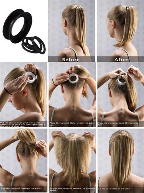 short hair you can still put in ponytail pictures dodajte volumen svom repu frizure hr