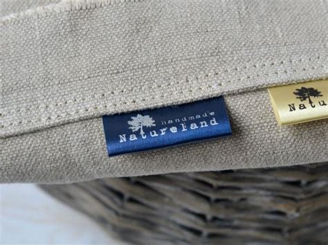 Fabric Labels For Handmade Items - 100 custom fabric labels color satin clothing labels