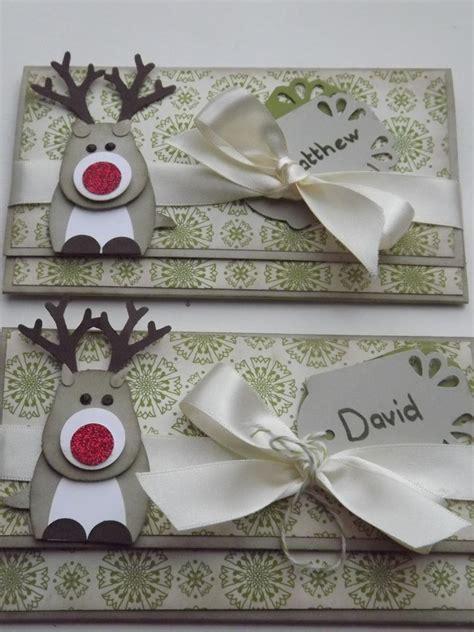 kraftingk gift voucher holders  reindeer