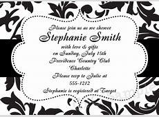 Black White White And Templates Invitations Mick And Black Mouse 0