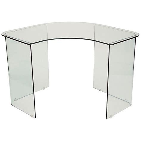 Corner Glass Desks Best 25 Glass Corner Desk Ideas On Pinterest Modern Corner Desk Small Bedroom Office And