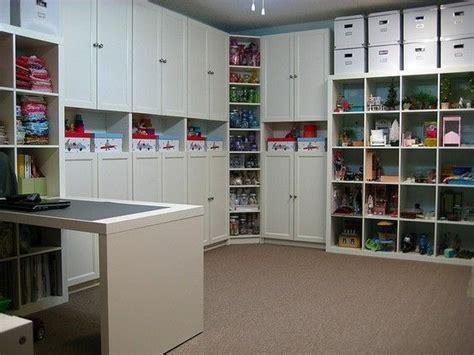 ultimate craft room my ultimate basement storage craft n sew studios