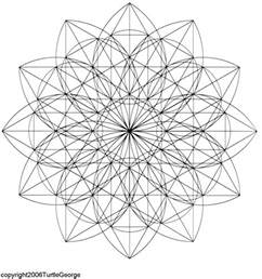 Sacred Geometry Lotus Flower The Daydream Factory A Z Sacred Geometry
