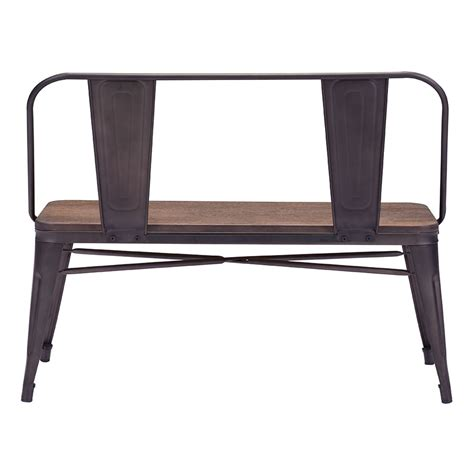 contemporary bench with back modern dining benches tamir dining bench eurway