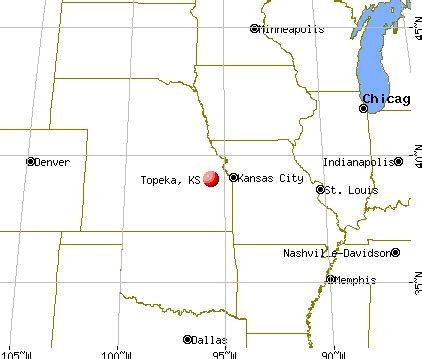 map topeka ks world map