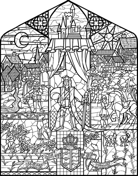 beauty and the beast window coloring page beauty and the beast stained glass by infractiangelus on