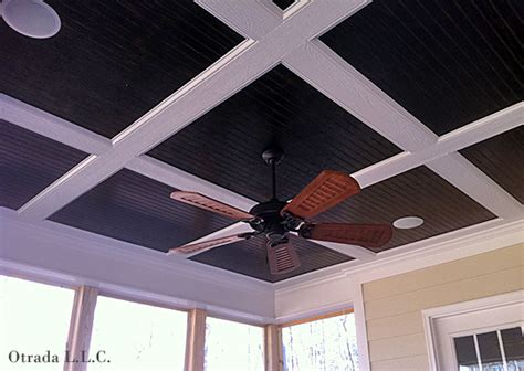 painted beadboard ceiling ceilings details that pack a punch nc design