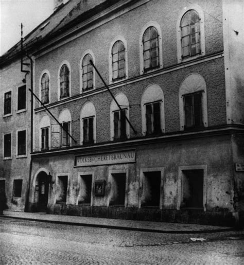 hitler born town but will it have bunker beds pub where hitler was born to