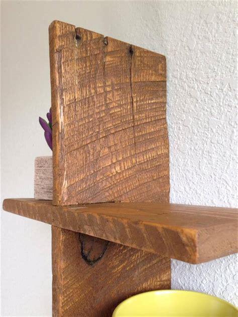 Handmade Wooden Shelves - pallet decorative floating shelf pallet furniture diy