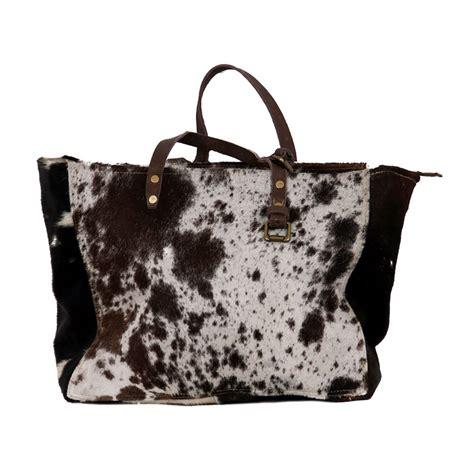 Cowhide Bag - cowhide fur shopping bag cowhide bags
