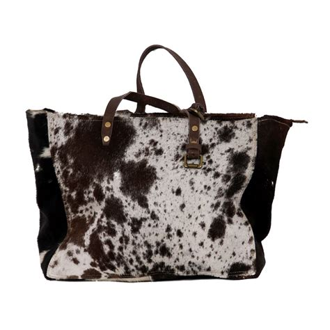 cowhide fur shopping bag cowhide bags