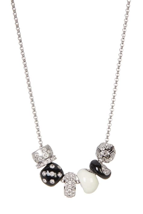 swarovski classic bead necklace nordstrom rack