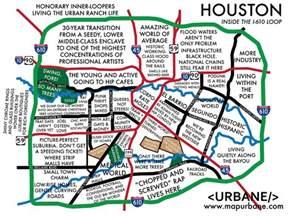 houston map areas houston neighborhood culture map urbane map store