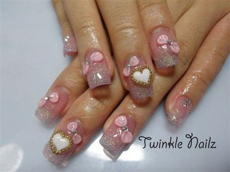 best 3d acrylic nail art design 15 amazing 3d valentine s day nail art designs ideas