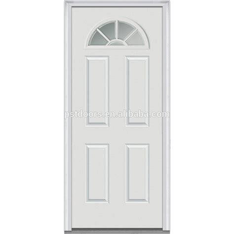 Steel Glass Panel Exterior Door 4 Panel Steel Glass Door With Sunburst Manufactured In Guangzhou Buy 6 Panel Glass Door